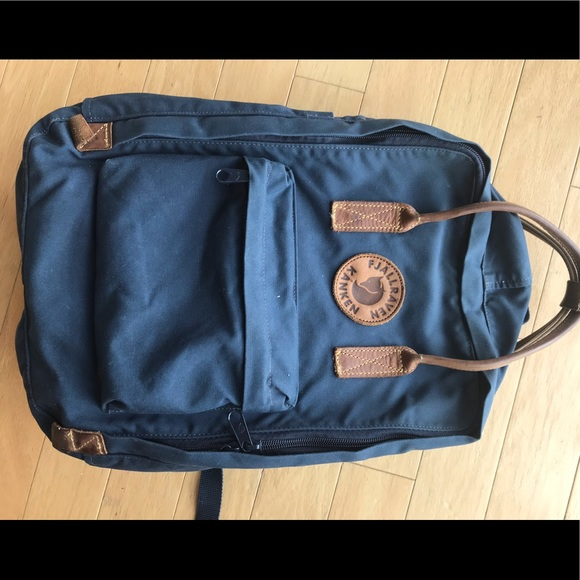 aafaa23145e150 Fjallraven Handbags - Fjallraven backpack - leather with laptop pouch